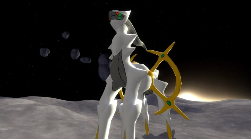 Arceus the Pokemon God