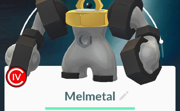 My newly evolved Melmetal