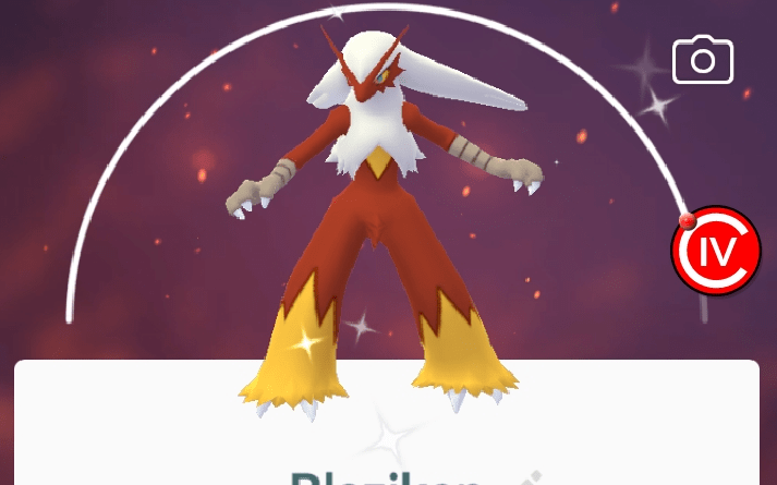 Pokemon Go Shiny Blaziken