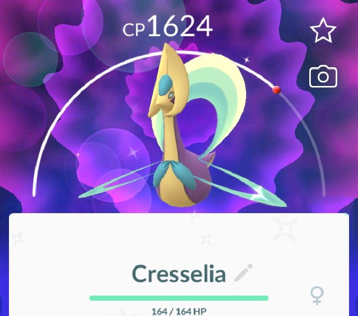 Shiny Cresselia