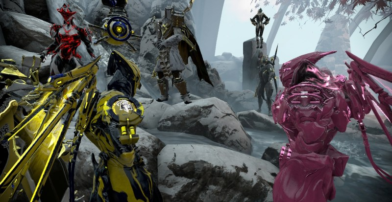 Tenno in a Relay
