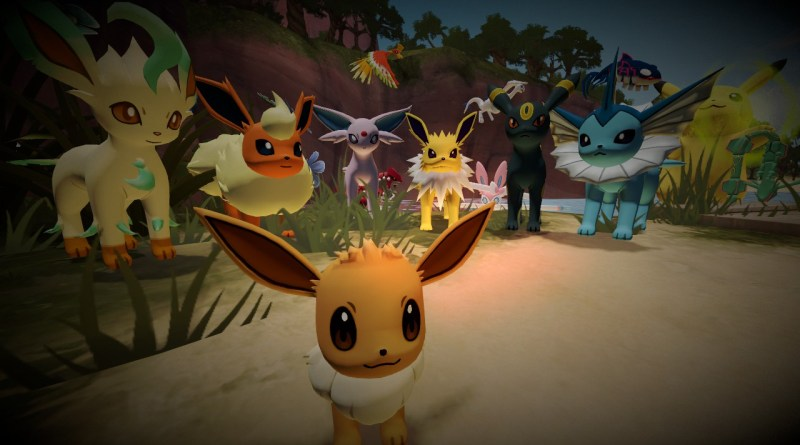 Eevee and its Eeveelutions