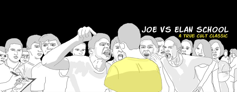 Joe VS Elan School Website Header