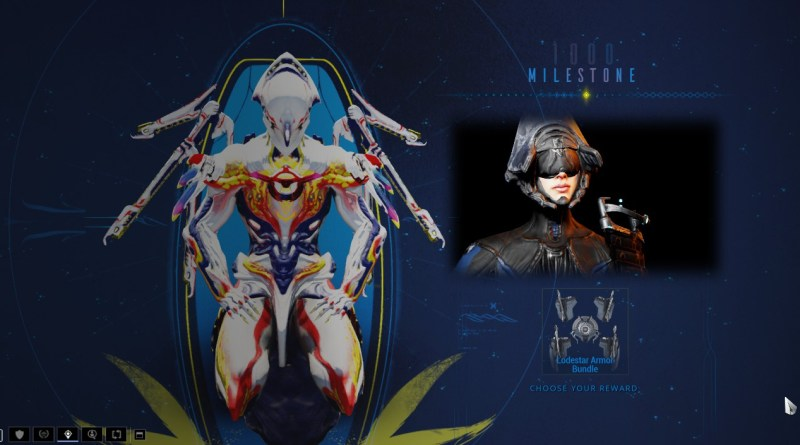 My 1000th Daily Tribute in Warframe