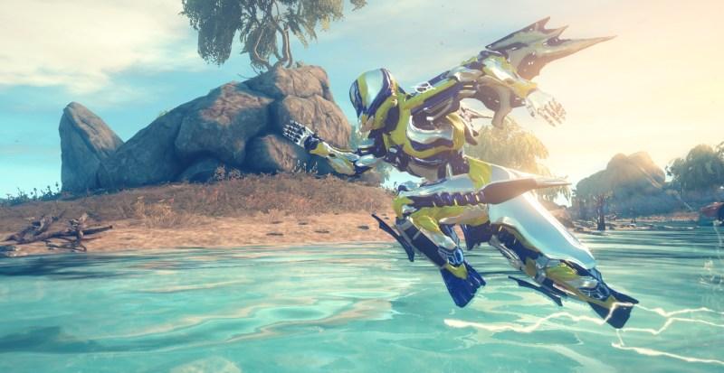 Gauss running on water