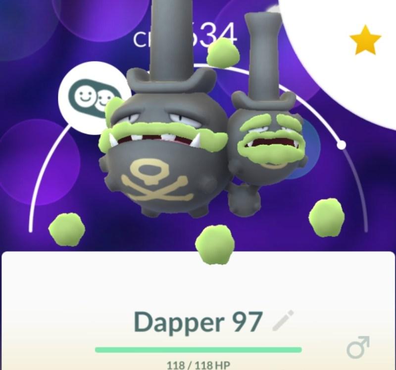 Dapper Weezing