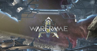 Warframe Empyrean Title Card
