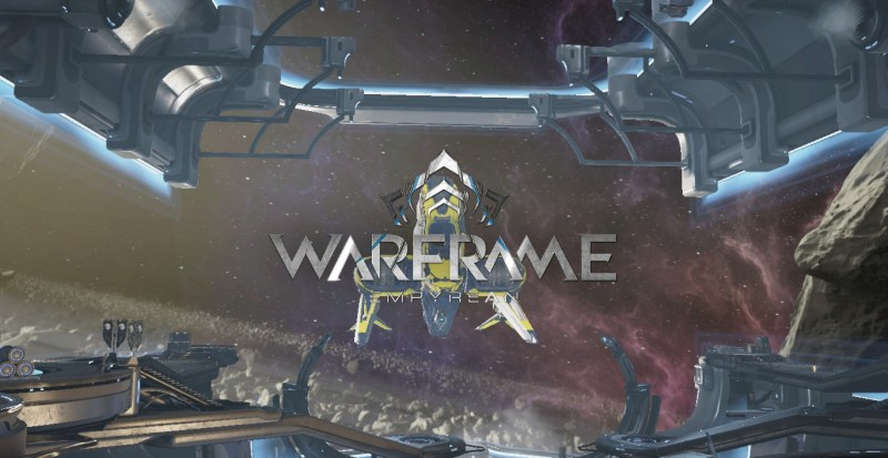 Warframe Empyrean Title Card