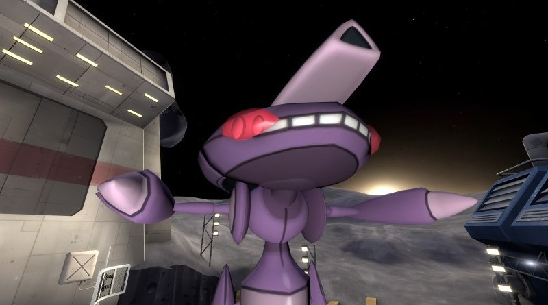 Genesect, a mechanical insect Pokemon nearly as good as Scizor