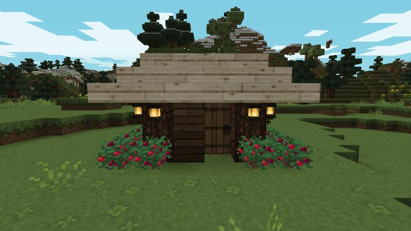 Compact hut banner