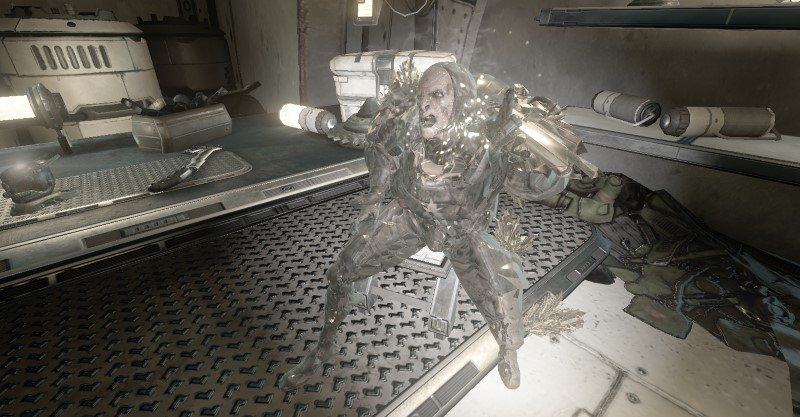 A Glassed Grineer, the victim in Act 3