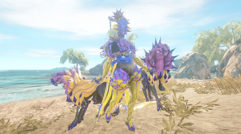 Khora Urushu Skin with Kavat and Venari