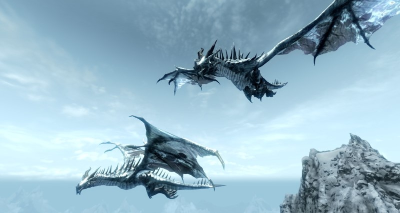 The Colorful Dragons 3 Frost Dragon