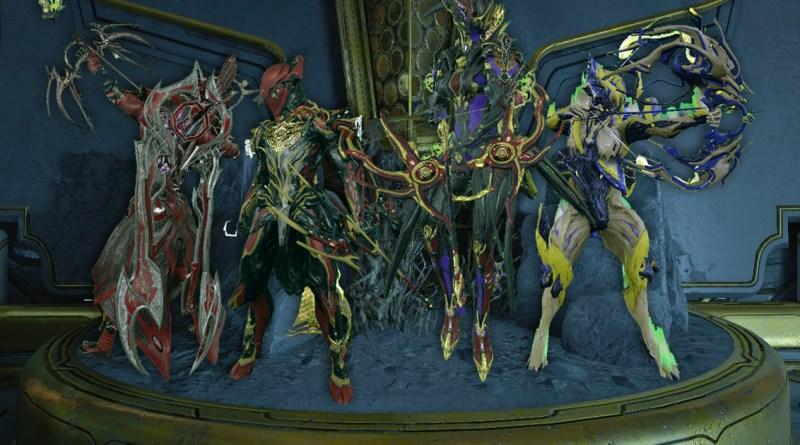 Rakta Cernos, Mutalist Cernos, Cernos Prime and Proboscis Cernos
