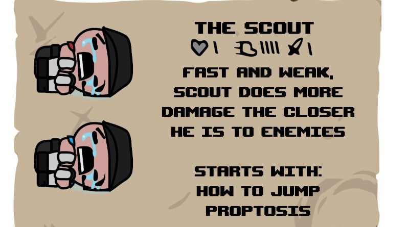 Binding of TF2 Characters - Scout