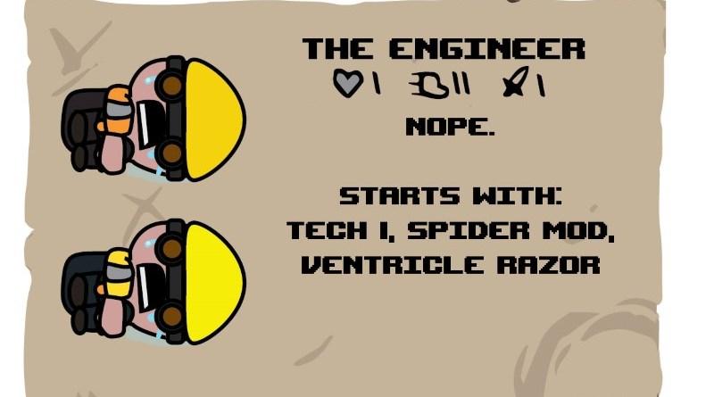 Binding of TF2 Characters - Engineer