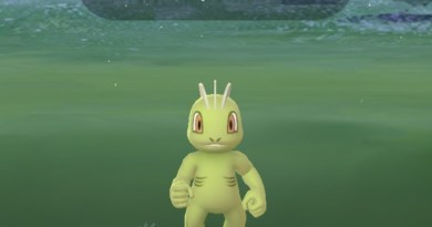 A shiny Machop on Community Day