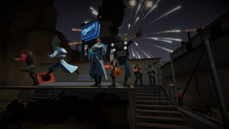 Celebratory explosions for the 3000th article!
