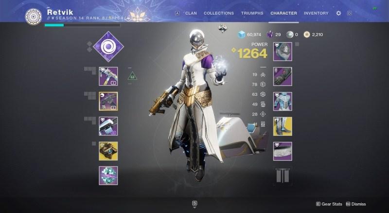 A Warlock in nice-looking colours