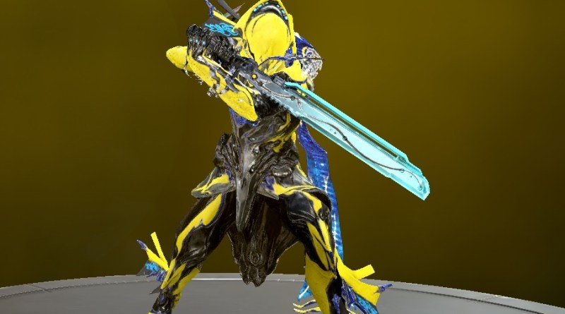 The Prisma Machete, being used by a Volt