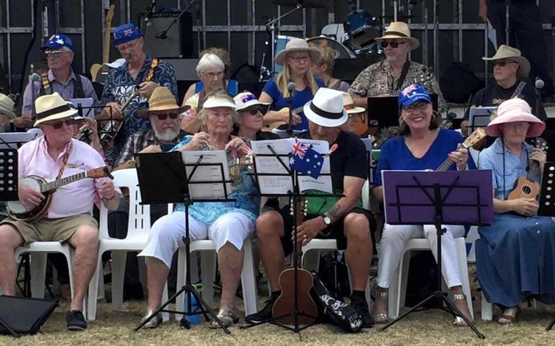 SPUKES at Australia Day Celebrations in Dromana 2018