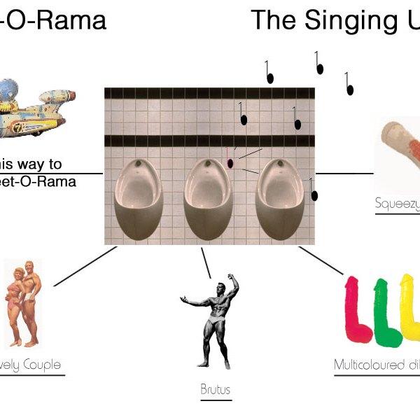 Singing Urinal interactive CD-Rom