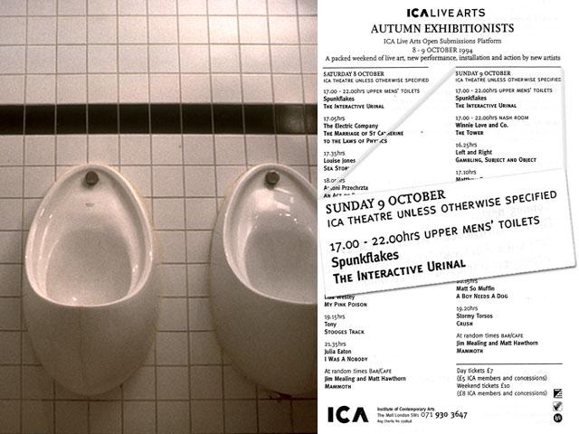 Interactive Urinal