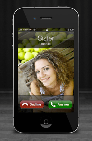 Full Screen iPhone Images (via the free Ensoul for Mac by Macpaw)