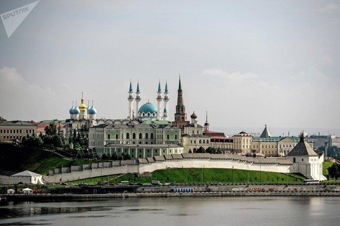 Архитектурные строения в Казани