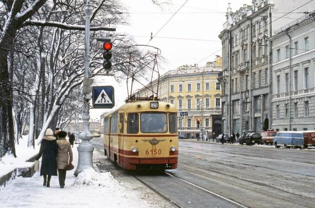 Invierno en Leningrado 1982. Foto: © Flickr / Maurits van den Toorn.