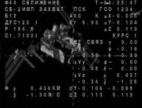 La Soyuz TMA-13M se aproxima a la EEI minutos antes del acoplamiento.