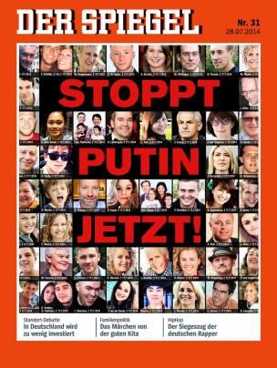 Detengan a Putin Ya! - Portada de 'Der Spiegel' increiblemente ha generado muchas críticas en Alemania.