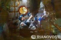 Elena prometió llamar periódicamente desde la órbita a su marido, el también cosmonauta Mark Serov, y a su hija Elena.