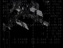 Soyuz TMA-14M en busca de la EEI. Foto: NASA TV.