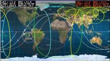 Nave Soyuz TMA-15M acoplamiento con el módulo Rassvet a las 01:49 GMT. Foto: NASA TV.