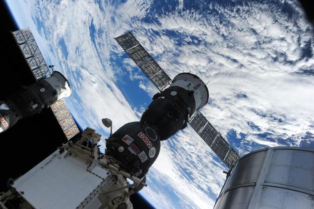 Soyuz TMA-16M. Foto: © Twitter/ Roscosmos.