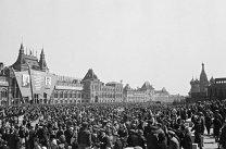 Plaza Roja en Moscú el 9 de mayo de 1945. Foto: © RIA Novosti / Anatoly Garanin.