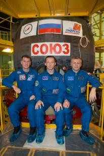 09 de Septiembre de 2016: Los miembros de la Expedición 49 durante una visita a las instalaciones del Edificio de Montaje en el Cosmódromo de Baikonur, en Kazajstán. Crédito de la imagen: NASA / Victor Zelentsov.