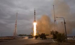 Miércoles 19 de Octubre de 2016: Lanzamiento del cohete Soyuz-FG con la nave Soyuz MS-02 desde el cosmódromo de Baikonur en Kazajstán. Crédito de la imagen: NASA / Joel Kowsky.