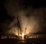 17 de Noviembre de 2016: Lanzamiento del cohete Soyuz-FG con la nave Soyuz MS-03 desde el cosmódromo de Baikonur en Kazajstán. Crédito de la imagen: NASA / Bill Ingalls.