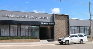 Funerária São João Batista,10 anos sendo destaque em João Pinheiro, está ampliando ainda mais as suas instalações