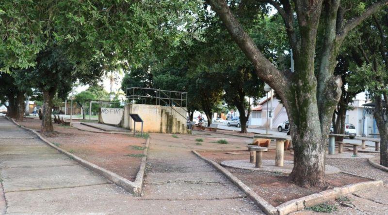 Decisão de derrubada das árvores da praça da rodoviária em João Pinheiro provoca clamor nas redes sociais