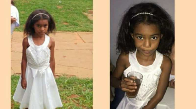Ana Paula, de 06 anos, que estava desaparecida foi encontrada sem vida, boiando no Rio Preto em Unaí