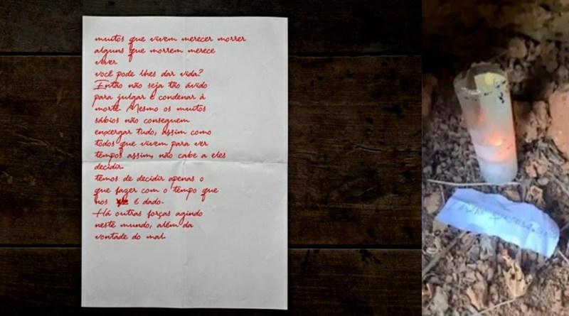 """'Lázaro"""": A crueldade é tão real que pouco sobra para ficção, Carta e velas foram encontradas"""
