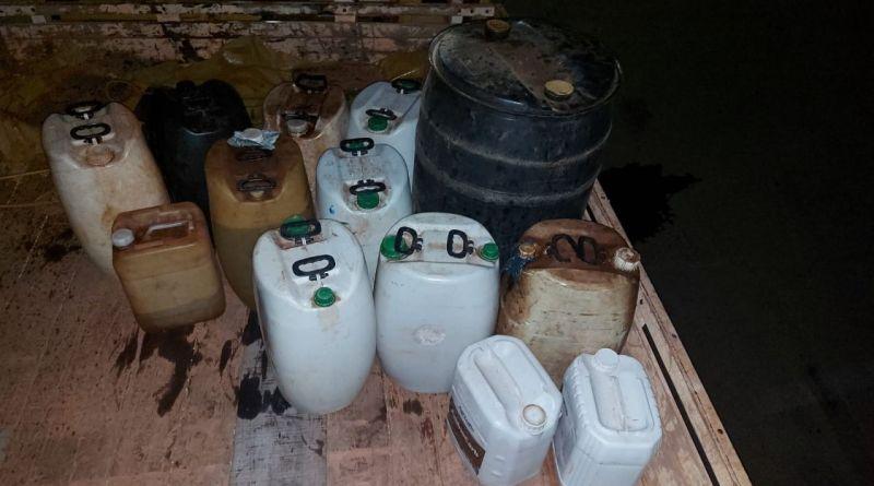 Homem furta galões de combustível em empresa e é preso na MG-188 em Paracatu