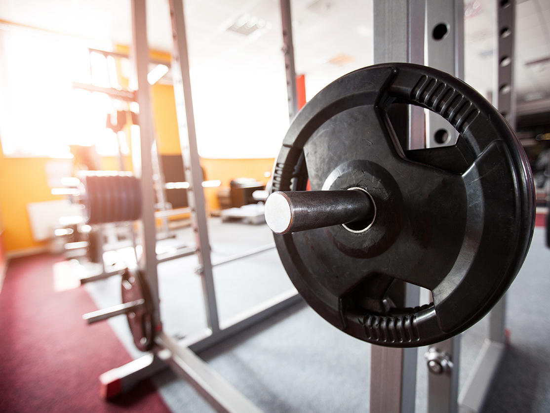 how to set up a home power rack safely