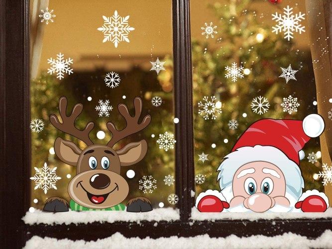 snowflake decal, budget Christmas presents, cheap Christmas gifts