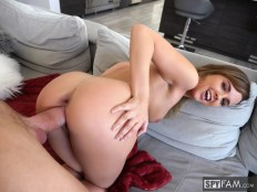 Dillion Harper in Step-Sister Curious About Brother's Cock 12