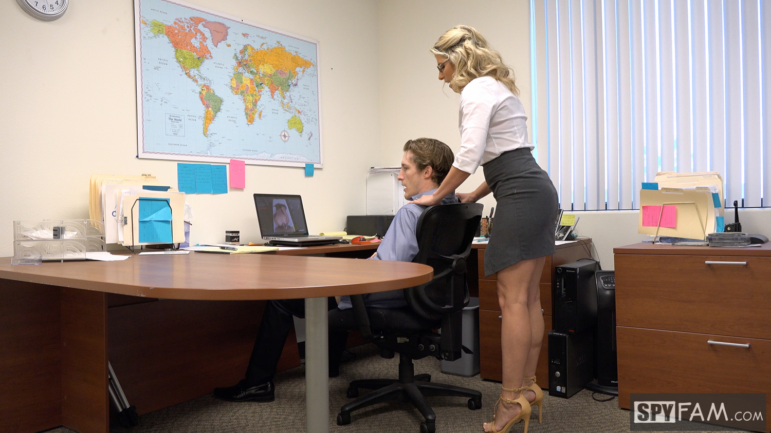 Cory Chase in Step-Son Sexually Harassed By Step-Mom At Work 7