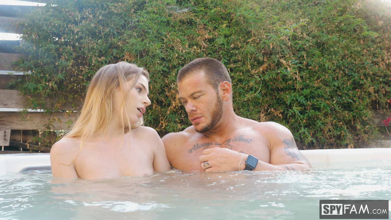 Sydney Cole in StepBrother and StepSister Fucking In The Jacuzzi 16